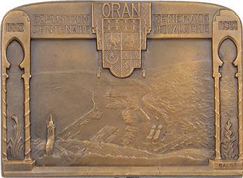 Algérie, Centenaire, Exposition générale d'Oran, 1930 Paris