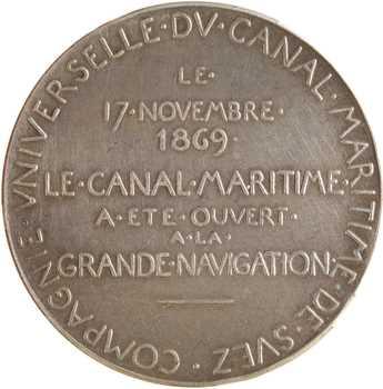 Égypte, Suez (canal de), ouverture du Canal, par Roty, 1869 (après 1880) Paris