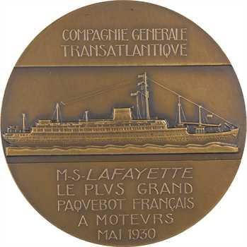 Delannoy (M.) : le paquebot Lafayette, version française, 1930 Paris