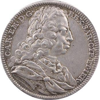Savoie (duché de), Charles-Emmanuel, Roi de Sardaigne, 1734