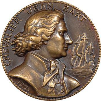 Guiraud (G.) : le Chevalier Jean Bart, fonte uniface, s.d. Paris