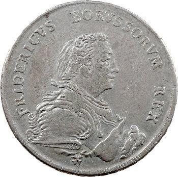Allemagne, Brandenburg-Prusse (royaume de), Frédéric-Guillaume Ier, Thaler, 1750 Berlin