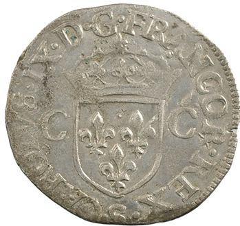 Charles IX, douzain aux 2 C 1er type, 1573 Troyes