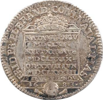 Allemagne, Brandebourg-Prusse, Élisabeth-Henriette de Hesse-Kassel, son décès en 1683, 1683 Berlin ?