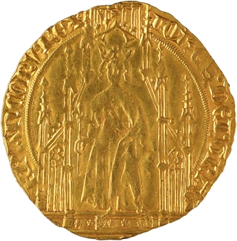 Jean II le Bon, royal d'or, 2e émission