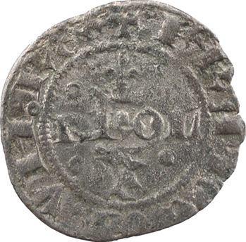 Dauphiné, Viennois (dauphins du), Charles V, double denier, s.d