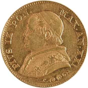 Vatican, Pie IX, 20 lire, 1866/XXI Rome