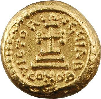 Constant II, solidus globulaire, Carthage, An 1 = 641-642