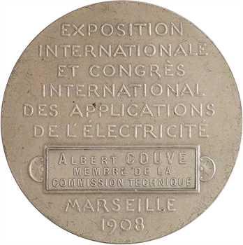 Dejean (L.) : Exposition Internationale de l'Électricité de Marseille, 1908 Paris