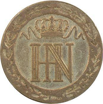 Allemagne, Westphalie (royaume de), Jérôme Napoléon, 20 centimes, 1812 Cassel