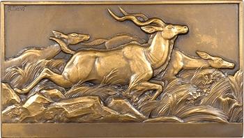 Thénot (M.) : les antilopes koudou, exposition de chasse de Berlin, 1937 Paris