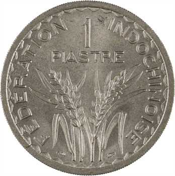Indochine, 1 piastre, 1947 Paris