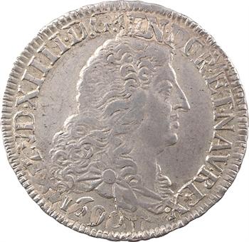 Louis XIV, demi-écu aux huit L, 1er type, 1690 Rennes