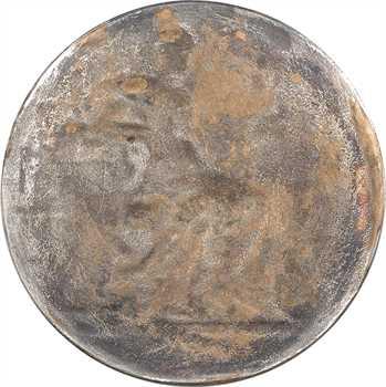 Rivet (Adolphe) : Au Mérite, récompense pour les arts, fonte uniface, s.d. Paris