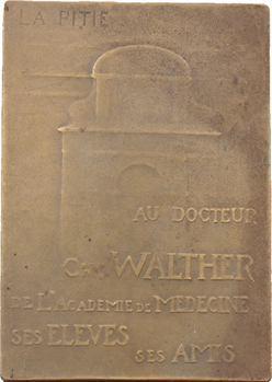 Médecine, Charles Walther, Académie de Médecine de Paris, par Fonfreide, s.d