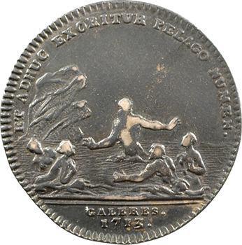 Galères, René de Froullay, maréchal de Tessé, 1713