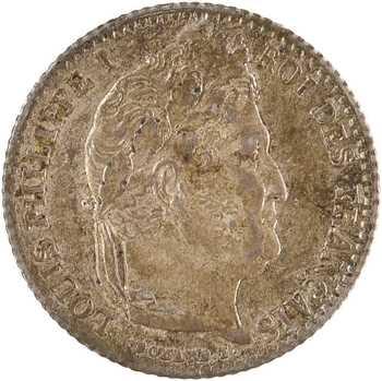 Louis-Philippe Ier, 1/4 franc, 1845 Rouen