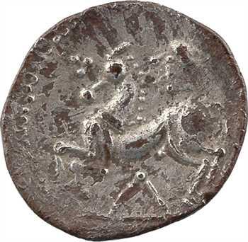 Lémovices, drachme au chevron sous le cheval, Ier s. av. J.-C