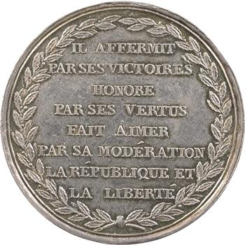 Consulat, Bonaparte Premier consul par Liénard, An 9 (1800-1801) Paris