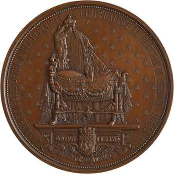 Second Empire, le berceau du Prince Impérial offert par la ville de Paris, 1856 Paris