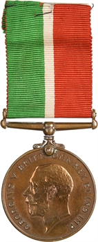 Royaume-Uni, Georges V, War service medal (Mercantile Marine), à William MC Cone, 1914-1918