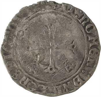 Louis XII, douzain au porc-épic de Bretagne 2e type, Nantes