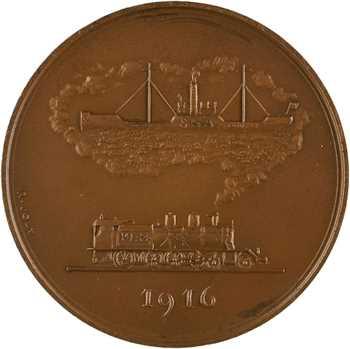 IVe République, la Société Navale d'Affrêtements (cargos du P.L.M.), par Raymond Joly, 1957 Paris