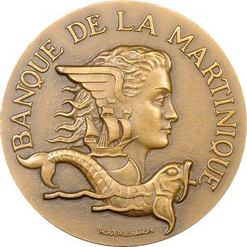 Martinique, centenaire de la Banque de la Martinique, 1953 Paris
