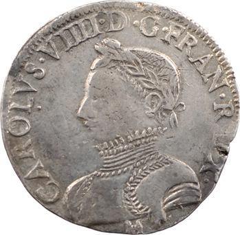 Charles IX, teston 2e type, 1566 Toulouse