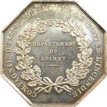 Second Empire, assurance mutuelle contre l'incendie, Loiret, 1820 (après 1860) Paris