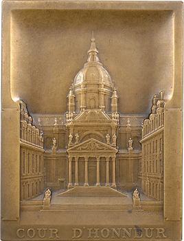 Picaud (J.) : la cour d'honneur de la Sorbonne, s.d. Paris