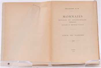 Collection Meyer (H.) ; Monnaies royales et seigneuriales, 1902, planches seules