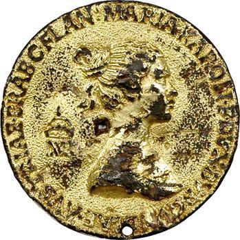 Autriche, mariage de Maximilien et Marie de Bourgogne, vers 1477, fonte ancienne