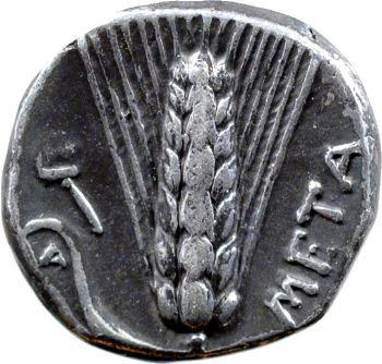 Lucanie, statère, Métaponte, 330-280 av. J.-C.
