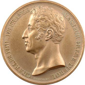 Louis XVIII, Charles-Philippe de France, visite la Monnaie de Paris, 1818 Paris