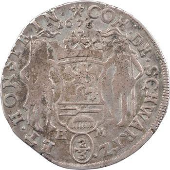 Allemagne, Schwarzbourg-Sondershausen , Antoine-Gonthier II, 2/3 de thaler, 1676 Sondershausen