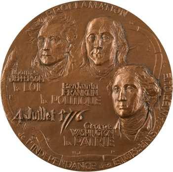 États-Unis, proclamation de l'indépendance, par Mocquot, 1976 Paris