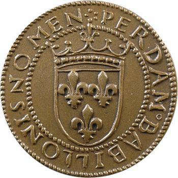 IIIe République, essai au type du ducat d'or de Louis XII, s.d. Paris