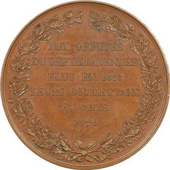 Louis XVIII, hommage aux trois députés de la Vendée, 1820 Paris