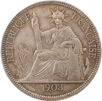 Indochine, 1 piastre, 1903 Paris