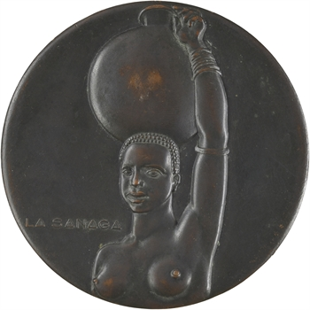 Cameroun, énergie électrique à Édéa, par Simon, 1953 Paris