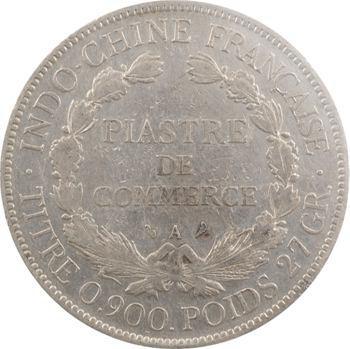 Indochine, 1 piastre, pochette CCCS VF20, 1907 Paris