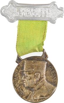 IIIe République, commandant Guesnet (pupille des sapeurs pompiers), 1936