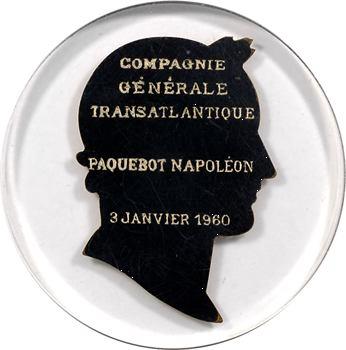 Ve République, Compagnie Générale Transatlantique (C.G.T.), le paquebot Napoléon, 1960 Paris