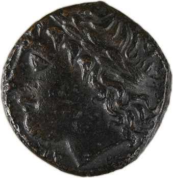 Sicile, Syracuse, règne d'Hiketas II, bronze, c.283-279 av. J.-C
