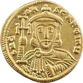 Constantin V et Léon III, solidus, Constantinople, 741-775