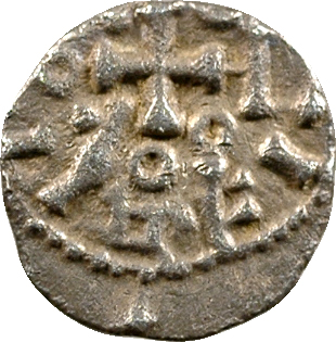 Anglo-saxons, denier ou sceatta, s.d. (c.700-740)