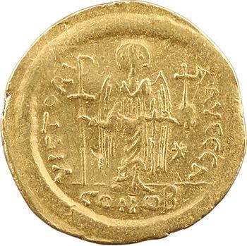 Justinien Ier, solidus, Constantinople, 1re officine, 527-565