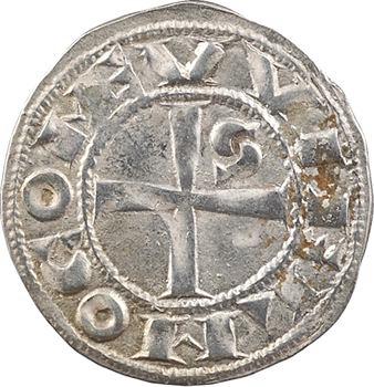 Languedoc, Toulouse (évêché et comté de), Guillaume IV ou Guillaume IX, denier, s.d. (1098-1127) Toulouse
