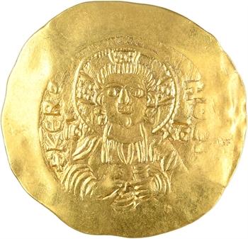 Manuel Ier, hyperpyron (scyphate), Constantinople, 1143-1180